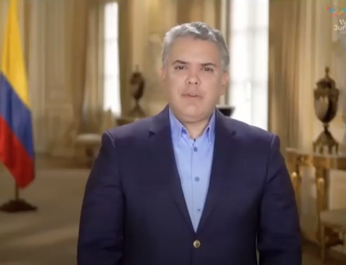 The President of Colombia, Iván Duque, opened the World Law Congress 2021