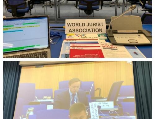 La World Jurist Association participa en el pleno de la Conferencia de países miembros de la Convención de Naciones Unidas contra la  Corrupción