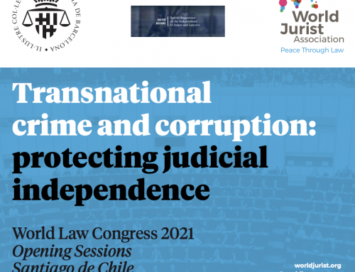"Opening Session Chile ""Transnational Crime and Corruption: Protecting Judicial Independence"""